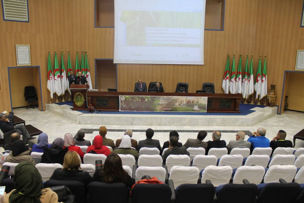 the Second International Conference of agriculture AGROSEM 2